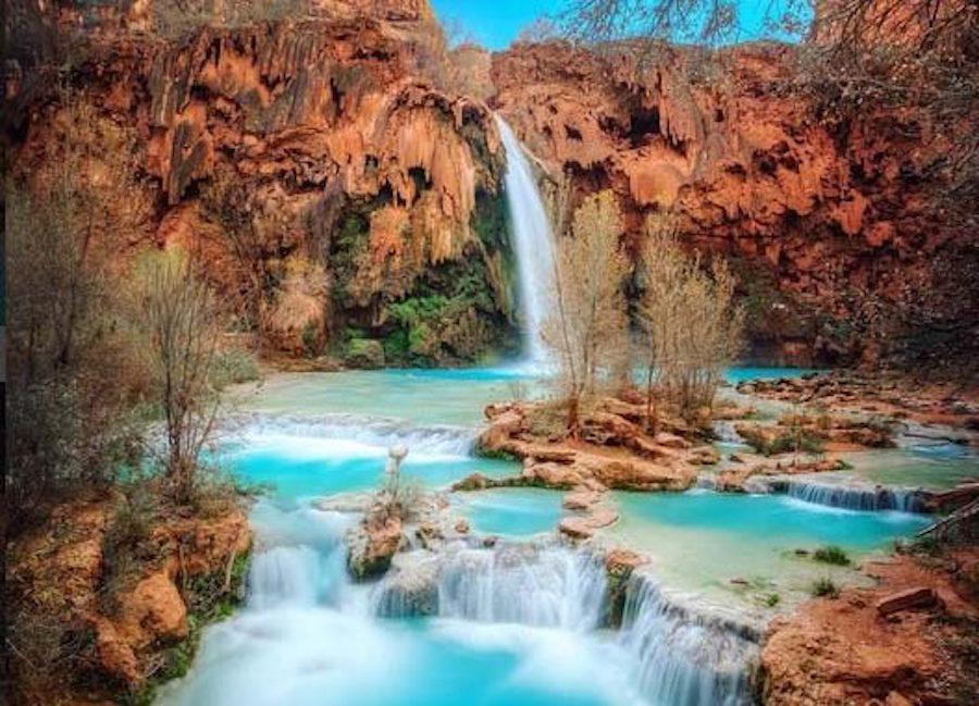 havasu falls supai arizona