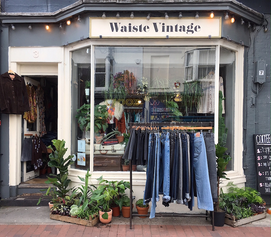 waiste vintage spiderplant shop