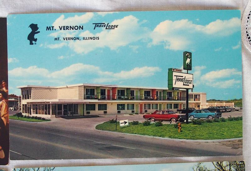 vintage postcard project