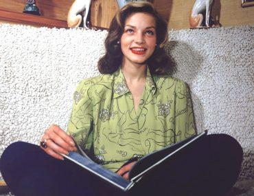 lauren bacall reading