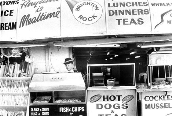 hot dog stand brighton 1960