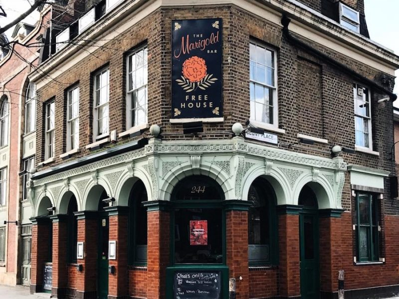 the marigold pub bermondsey street london