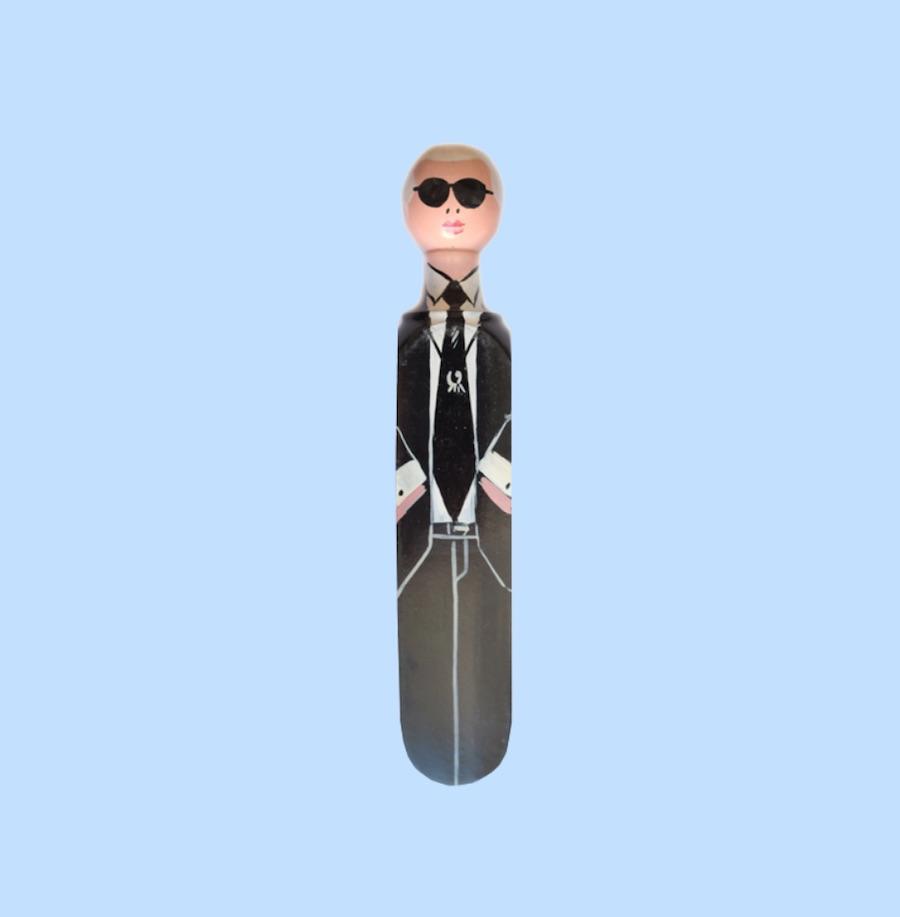 Karl lagerfeld doorstop wedgie