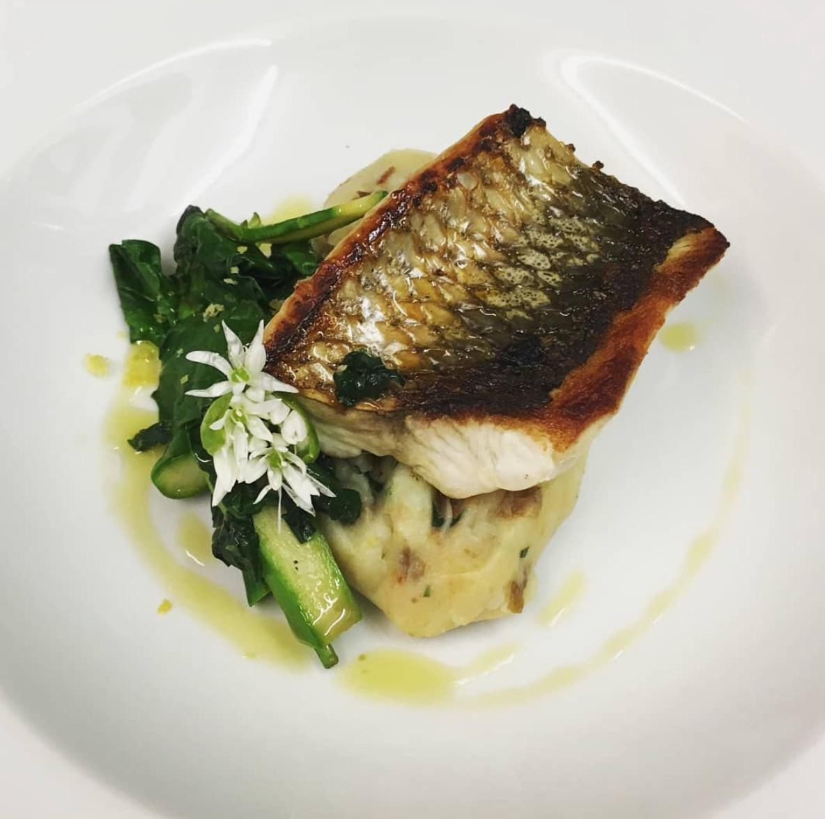 semolina bistro fish dish