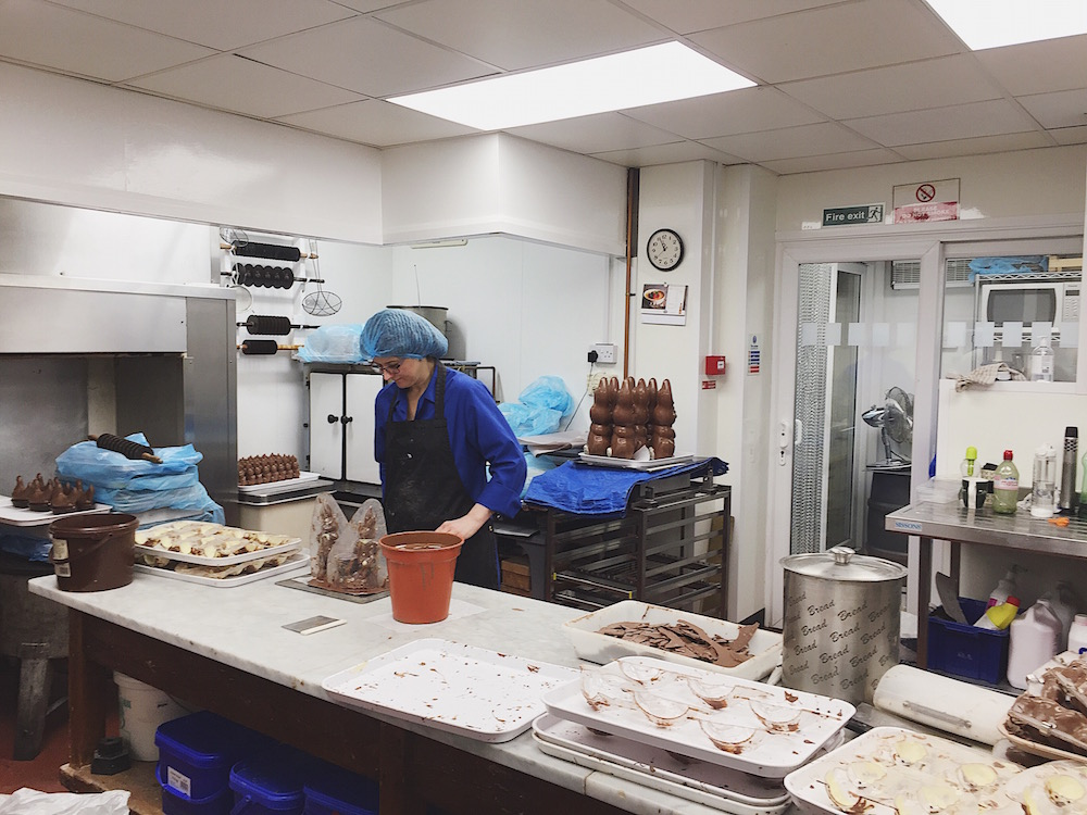 secret chocolate factory brighton audrey's