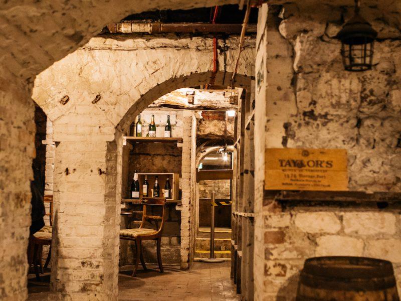 old ship hotel cellar bar