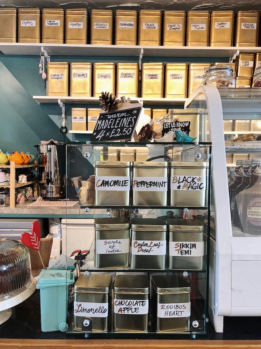 herbal tea brighton tea shop