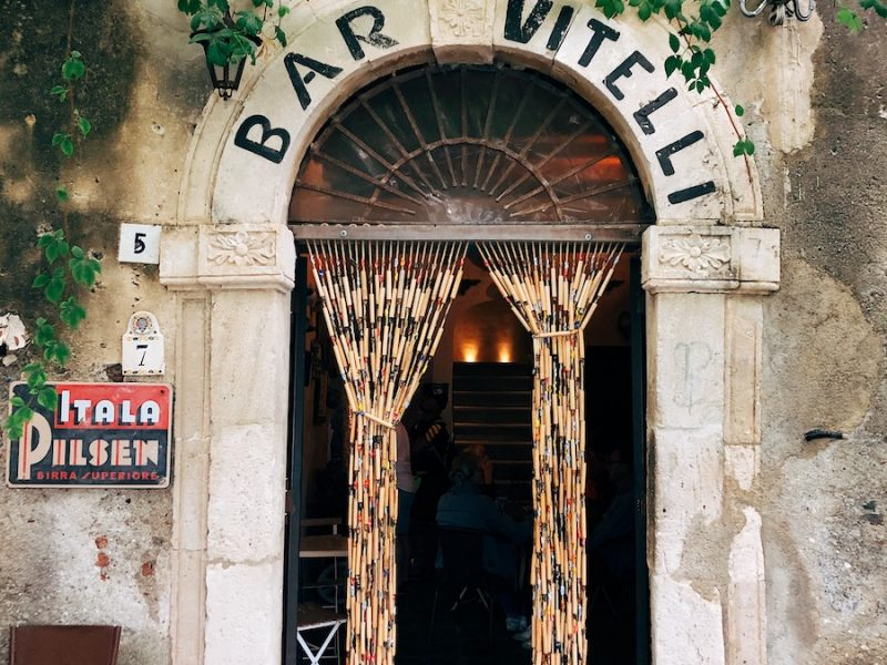 bar vitelli sicily The Godfather