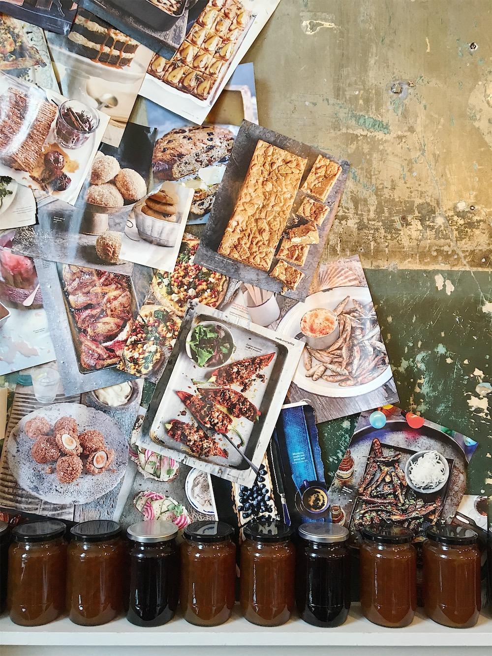 cafe marmalade magazines walls