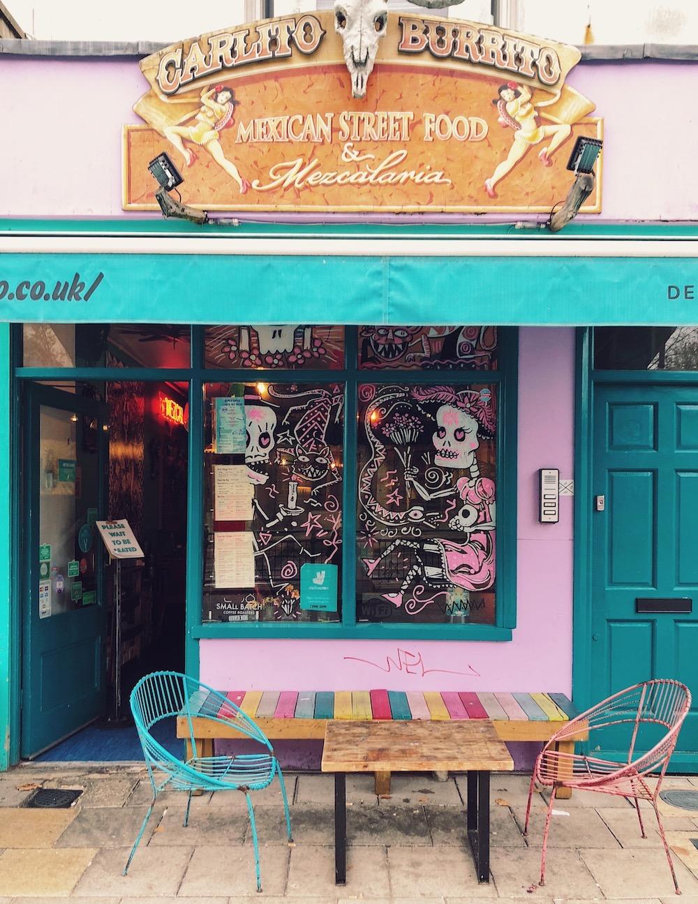 carlitos burrito romantic restaurant brighton