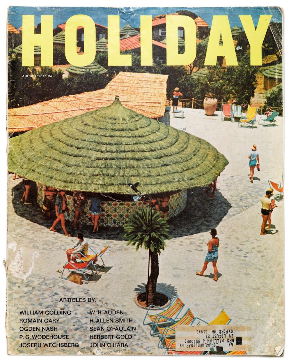 vintage holiday magazine