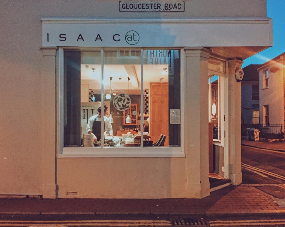 isaac at brighton date night cosy restaurant