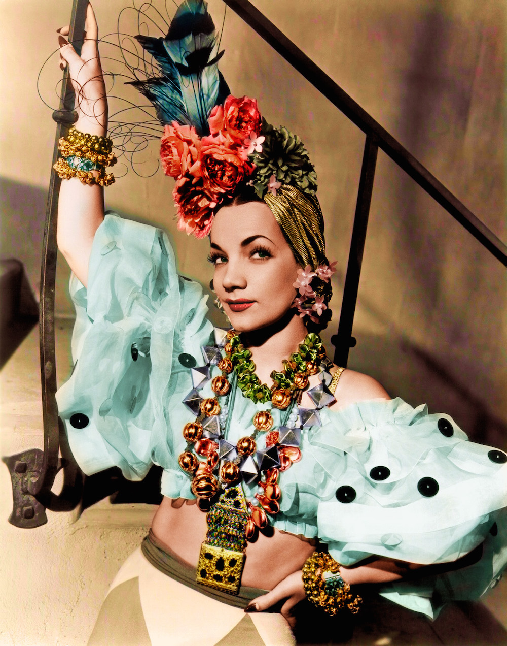 Carmen Miranda and Her Incredible Tropical Hats | Ellie & Co