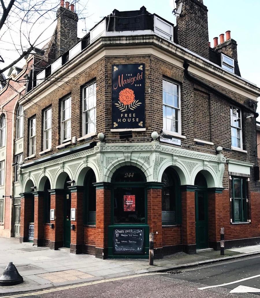 the marigold pub bermondsey street london