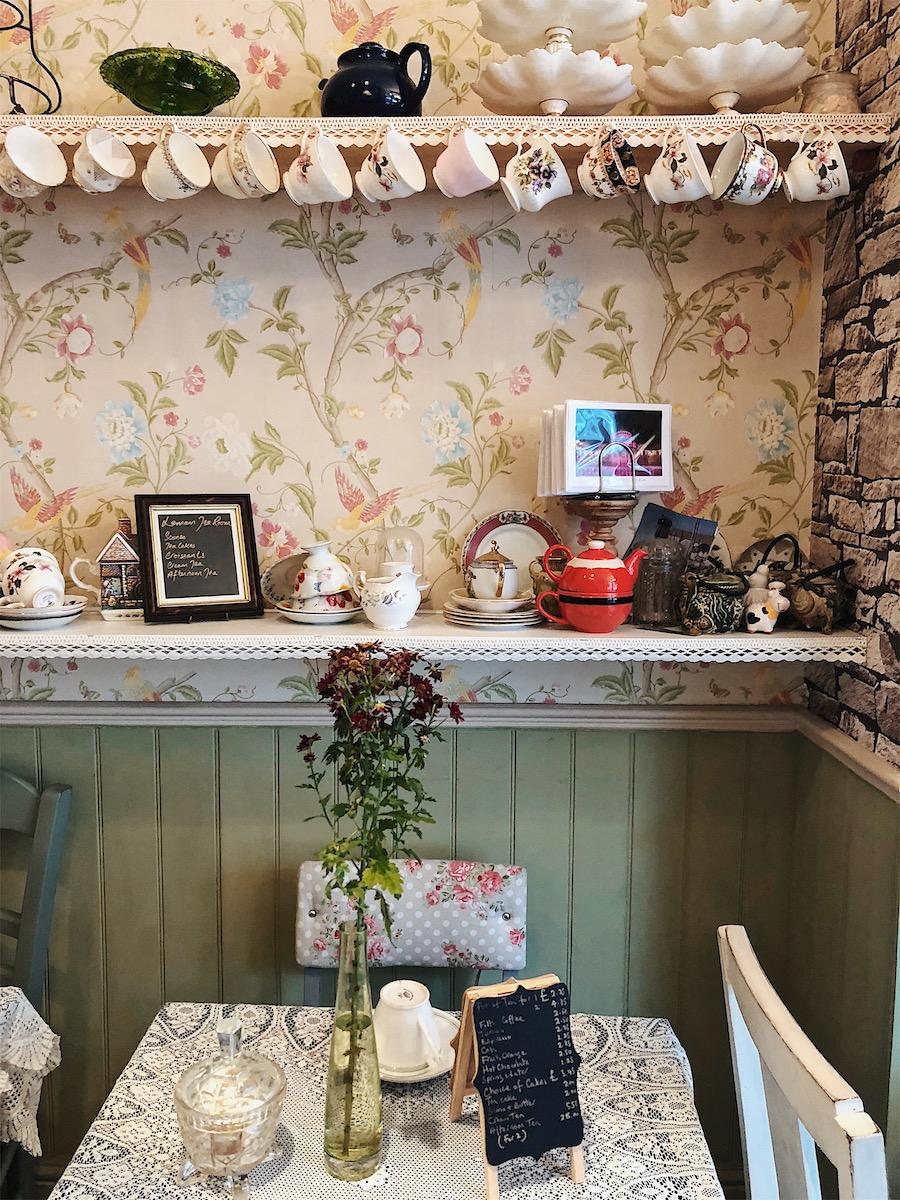 leman tea shop cakes afternoon tea