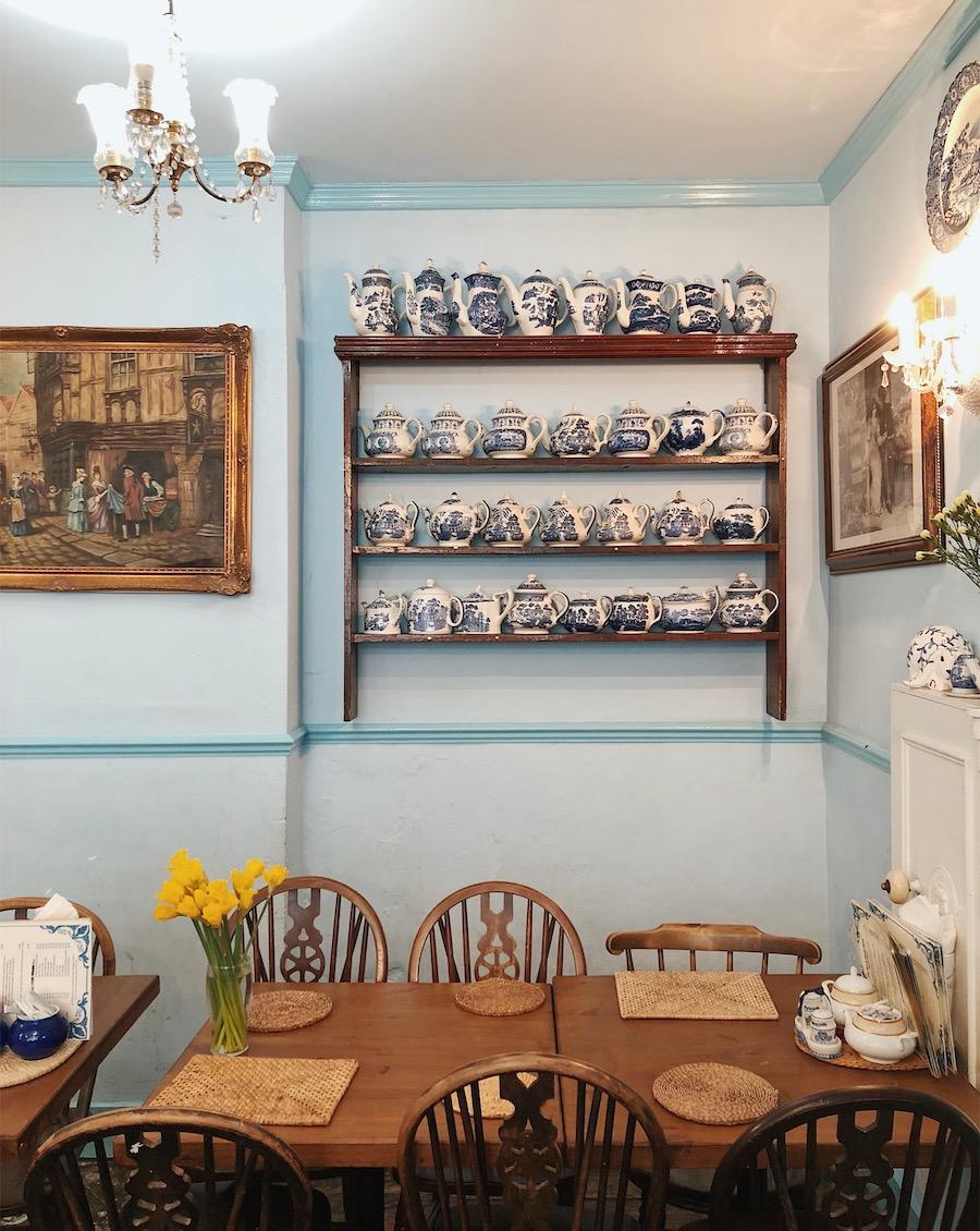 mock turtle tea room