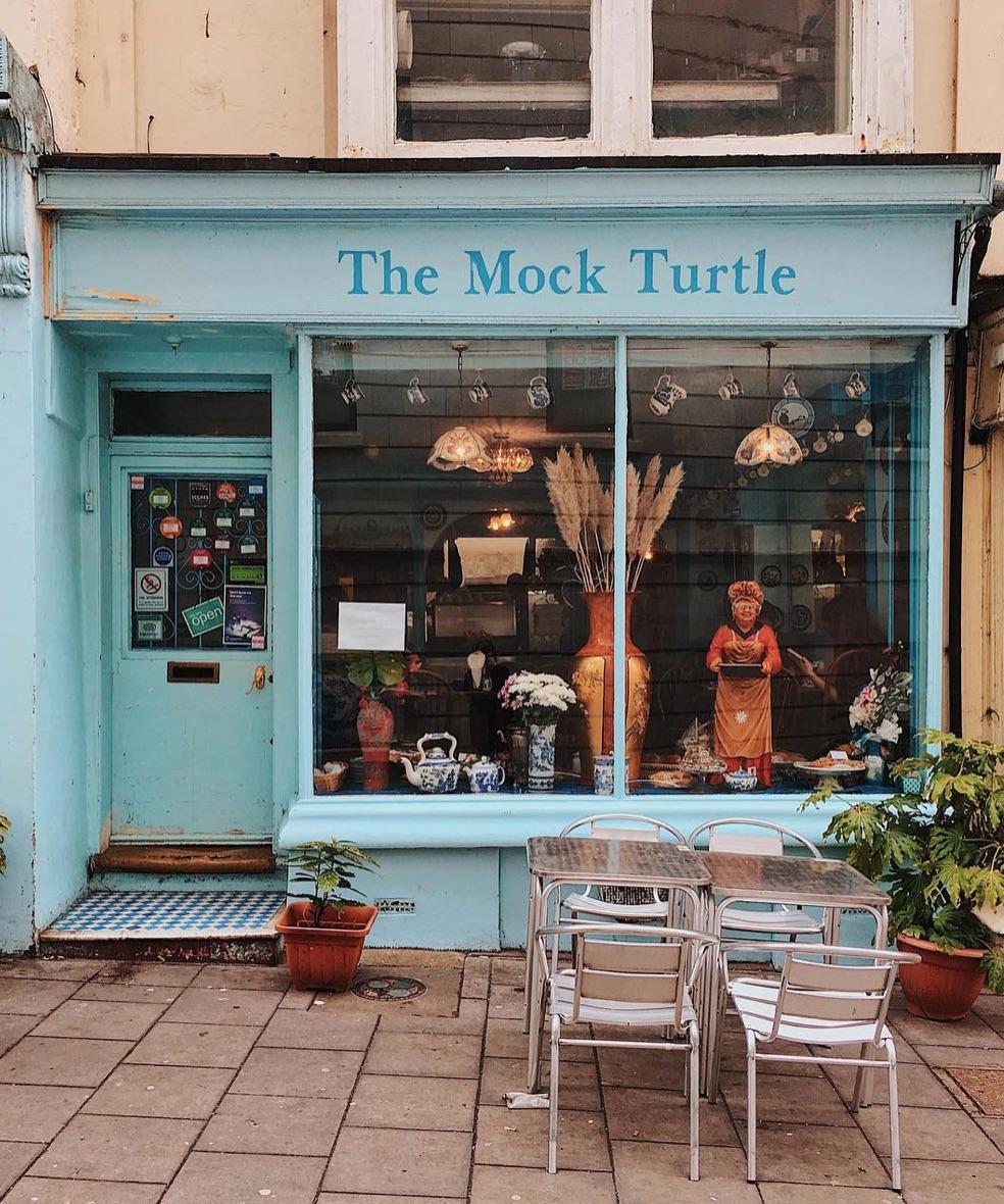mock turtle tea room brighton