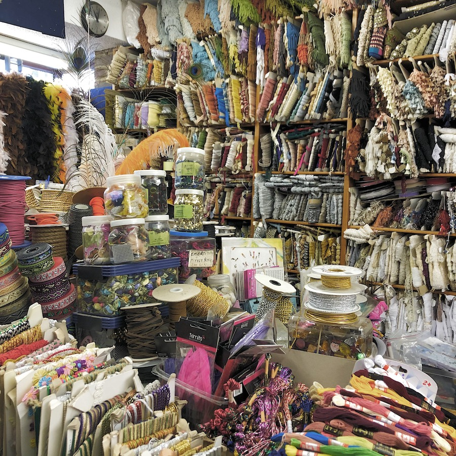 fabric shop brighton