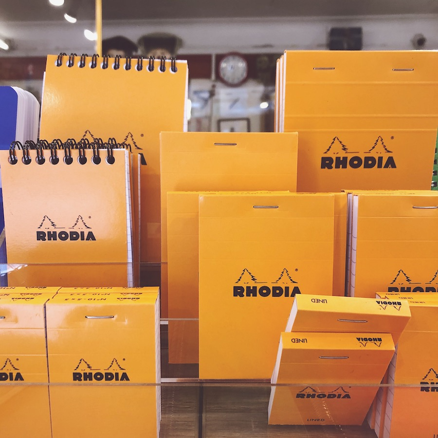 rhodia notebooks france brighton stationery shop