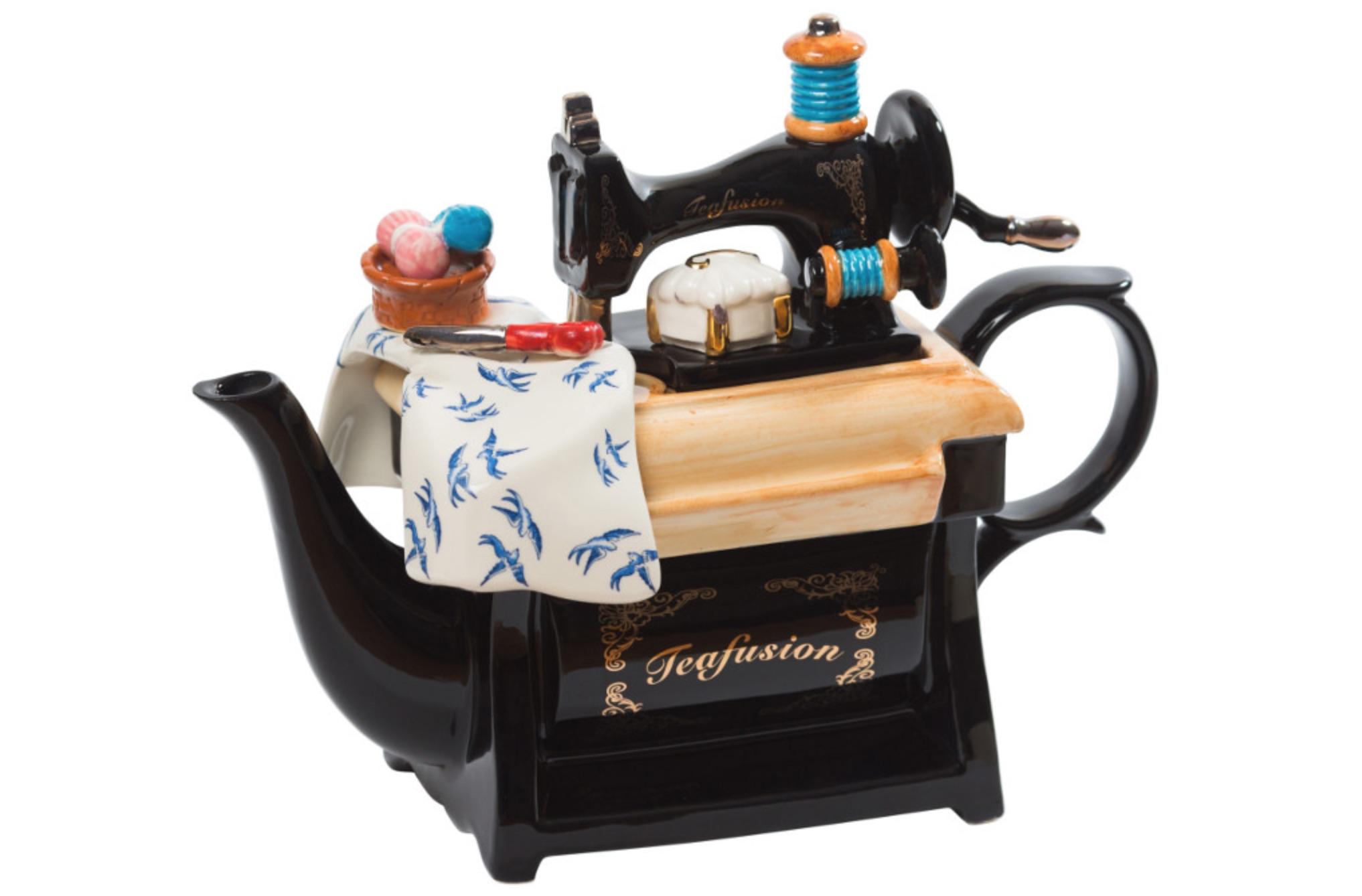 sewing machine novelty teapot