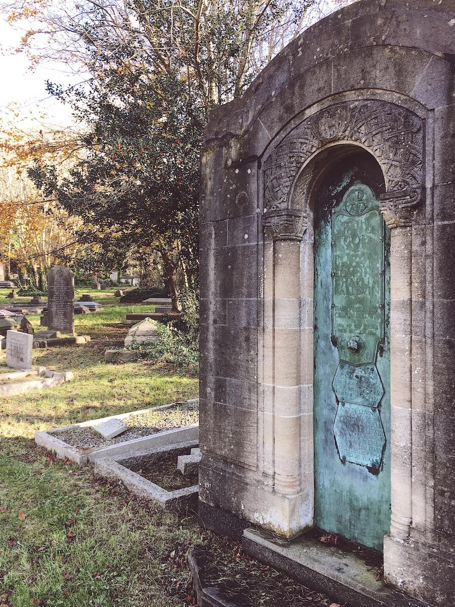 brighton cemetery woodpile