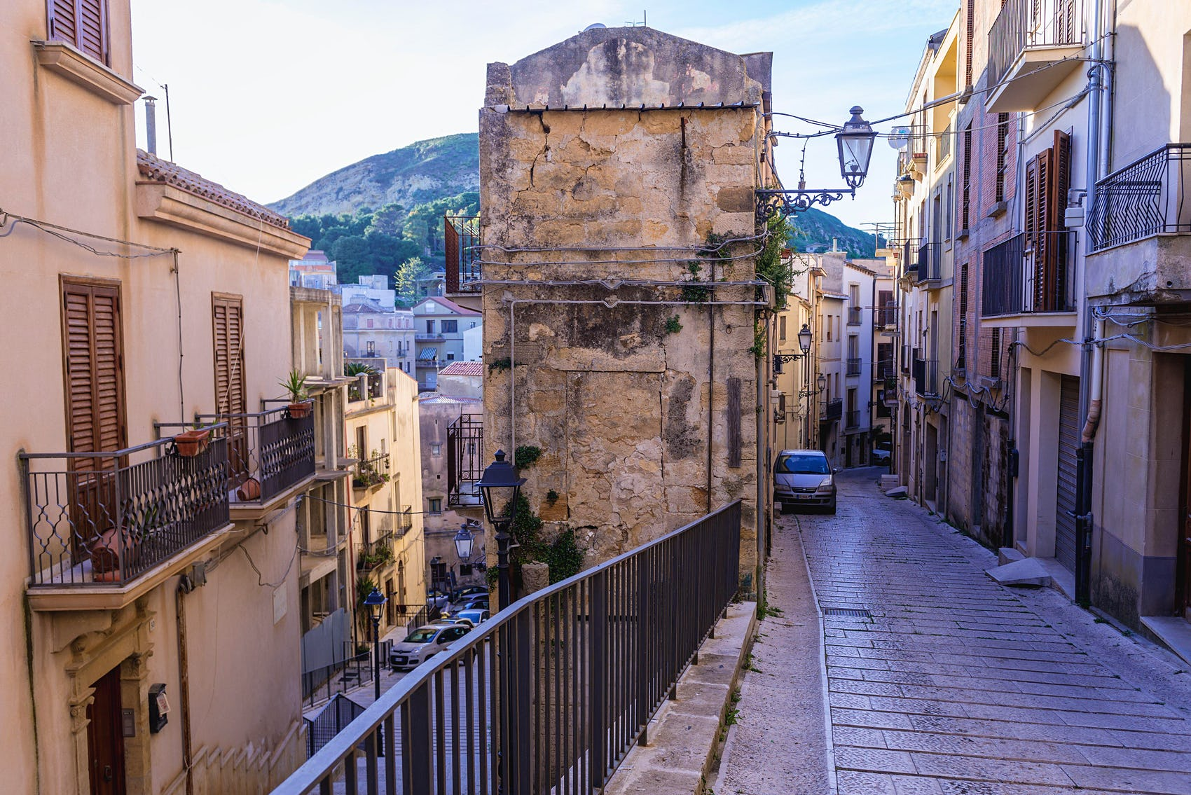 salemi town in Sicily auction