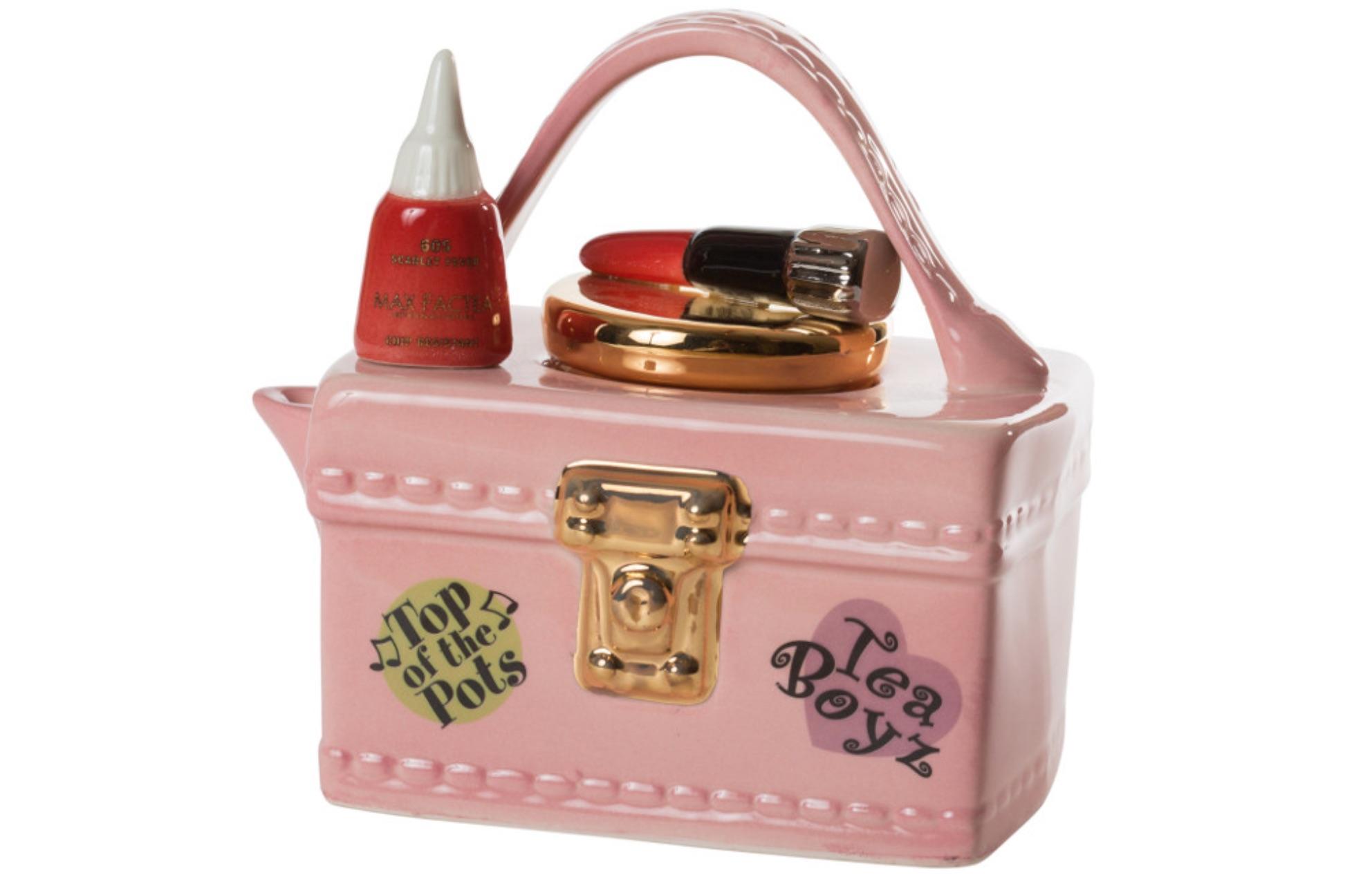 vanity case novelty teapot